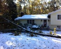 Snow Storm Emergency